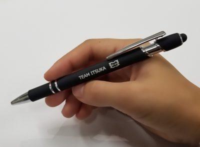 タッチボールペン (ブラック)
